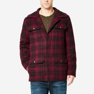 COLE HAAN Plaid Wool Classic Hunter Jacket Size S